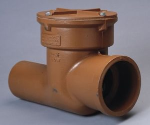 distributor backwater check valve