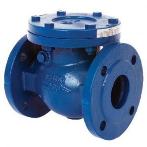 distributor swing check valve